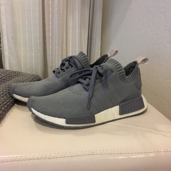 469c6476d56 adidas Shoes - Gray Adidas Originals NMD R1 Primeknit sneakers